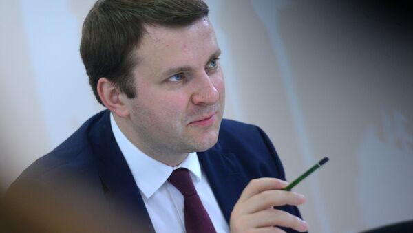 Bộ trưởng Phát triển Kinh tế Liên bang Nga Maxim Oreshkin - Sputnik Việt Nam