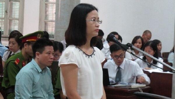 Bị cáo Nguyễn Thị Nga, cựu trưởng ban kế toán OceanBank - Sputnik Việt Nam