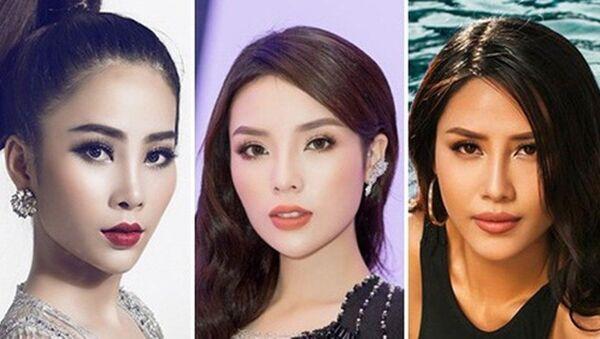 đại diện Việt Nam thi đấu tại 'Hoa hậu Hoàn vũ 2017' - Sputnik Việt Nam