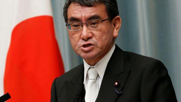 Bộ trưởng Ngoại giao Nhật Bản Taro Kono - Sputnik Việt Nam