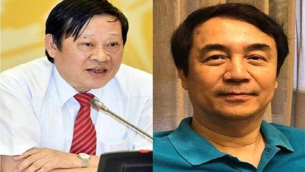 bộ trưởng bộ Y tế Nguyễn Việt Tiến; Chánh Văn phòng BCĐ 389 Trần Hùng - Sputnik Việt Nam