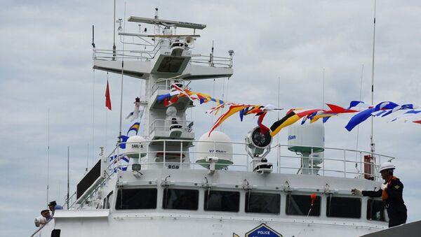 Tàu Lực lượng Bảo vệ bờ biển Hàn Quốc - Sputnik Việt Nam
