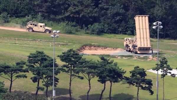 Hệ thống phòng thủ tên lửa THAAD của Mỹ ở Hàn Quốc - Sputnik Việt Nam
