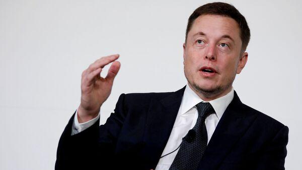 Người sáng lập hãng SpaceX và Tesla là Ilon Mask - Sputnik Việt Nam
