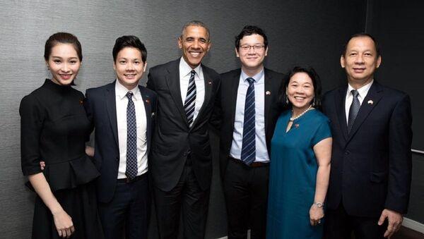 Đặng Thu Thảo, Trung Tín và Obama - Sputnik Việt Nam