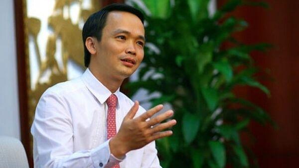 Ông Trịnh Văn Quyết - Chủ tịch Tập đoàn FLC - Sputnik Việt Nam