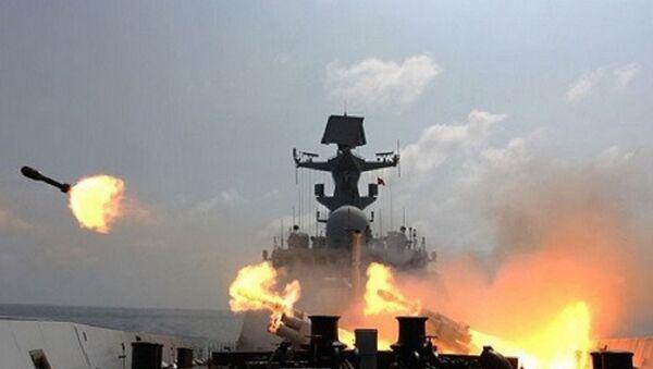 Trung Quốc đã nhiều lần huấn luyện bắn đạn thật tại khu vực quần đảo Hoàng Sa của Việt Nam - Sputnik Việt Nam