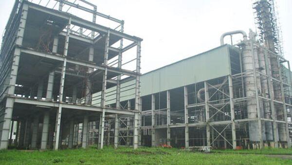Dự án ethanol Phú Thọ vẫn đắp chiếu khi còn dang dở. - Sputnik Việt Nam