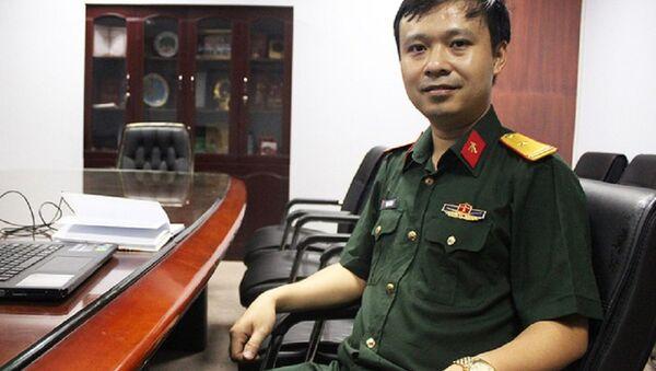 Thiếu tá, PGS.TS Trịnh Lê Hùng - Sputnik Việt Nam