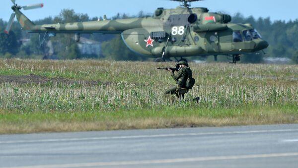 Подготовка к совместным учениям вооруженных сил России и Белоруссии Запад-2017 в Могилевской области Белоруссии - Sputnik Việt Nam