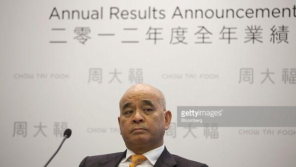 Henry Cheng -Chủ tịch Tập đoàn Chow Tai Fook - Sputnik Việt Nam