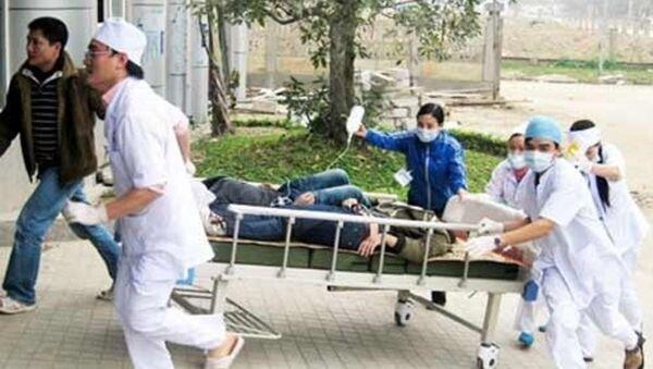 Lào Cai: Hàng chục người nhập viện - Sputnik Việt Nam