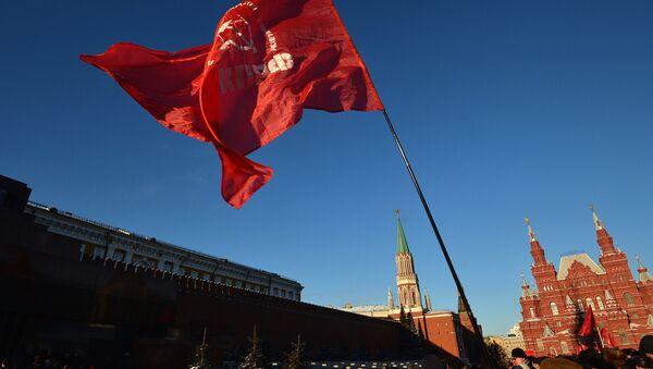 Возложение цветов к Мавзолею В.И.Ленина - Sputnik Việt Nam