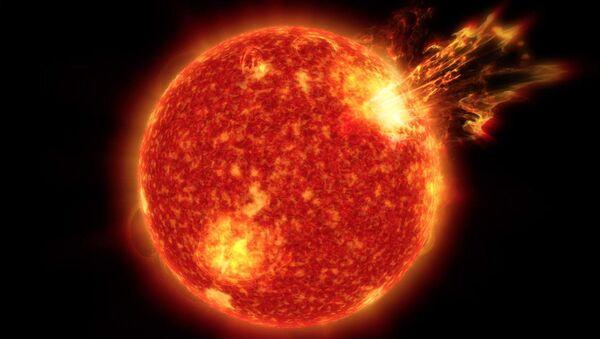 Вспышка на Солнце - Sputnik Việt Nam