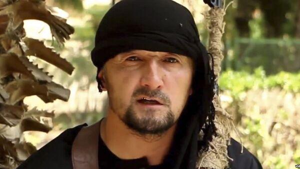 Министр войны международной террористической группировки ИГИЛ (запрещена в России) Гулмурод Халимов - Sputnik Việt Nam