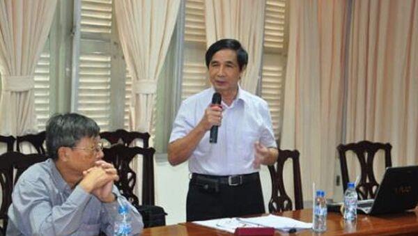 GS.TSKH Lê Du Phong, nguyên Hiệu trưởng trường Đại học kinh tế quốc dân - Sputnik Việt Nam