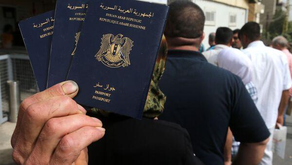 hộ chiếu Syria - Sputnik Việt Nam