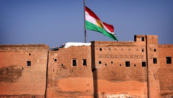 Cờ Kurdistan tại Iraq - Sputnik Việt Nam