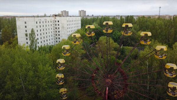 Vòng đu quay Chernobyl hoạt động sau 31 năm tai nạn nhà máy điện hạt nhân - Sputnik Việt Nam