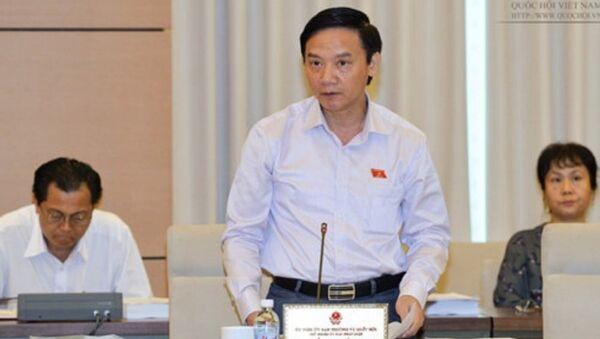Chủ nhiệm Nguyễn Khắc Định: Ông bé xử lý ông to là rất khó - Sputnik Việt Nam