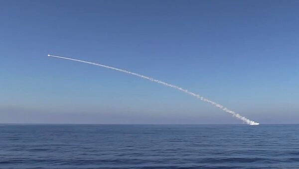 Kalibr cruise missile at ISIS facilities. (File) - Sputnik Việt Nam