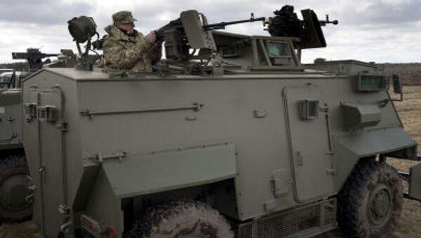 Quân đội Ukraine đã nhận lô 55 xe bọc thép Saxon của Anh - Sputnik Việt Nam
