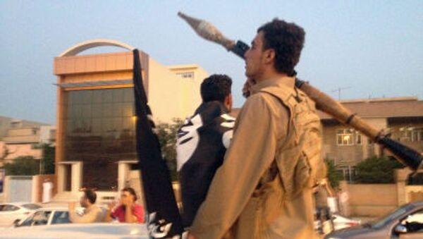 Cuộc diễu hành quân sự của chiến binh IS ở Mosul, Iraq - Sputnik Việt Nam