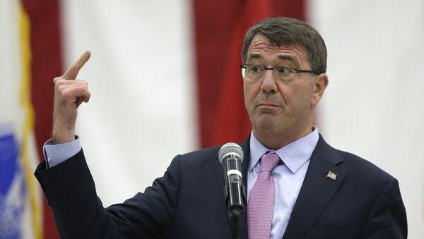 Bộ trưởng Bộ Quốc phòng Hoa Kỳ Ashton Carter - Sputnik Việt Nam
