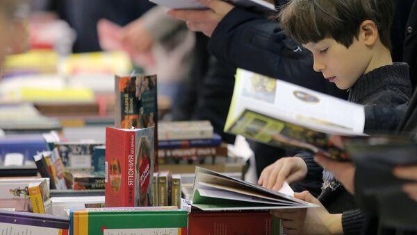Triển lãm-hội chợ quốc tế Sách Nga - Sputnik Việt Nam