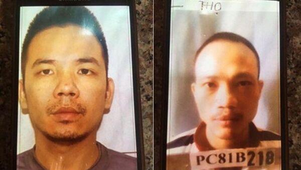 Hai tử tù bỏ trốn khỏi trại giam T16, Bộ Công an. - Sputnik Việt Nam