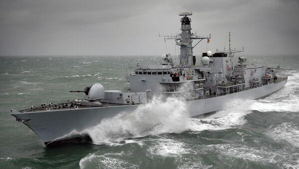 Tàu HMS Kent F78 của hải quân Anh - Sputnik Việt Nam
