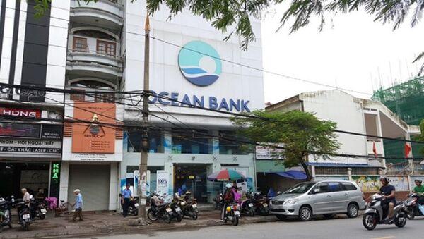 Lãnh đạo OceanBank chi nhánh Hải Phòng đã vắng mặt nhiều ngày tại nhiệm sở. - Sputnik Việt Nam