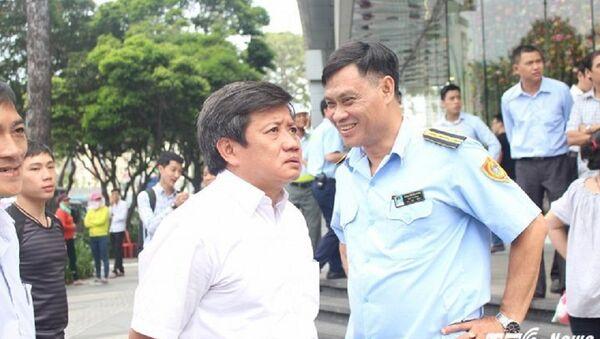 Ông Đoàn Ngọc Hải cho biết sẽ đề xuất điều chuyển, hạ chức Chủ tịch phường Cầu Ông Lãnh. - Sputnik Việt Nam