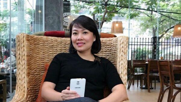 Trần Thị Kim Chi, nguyên Giám đốc OceanBank Chi nhánh Hải Phòng. - Sputnik Việt Nam