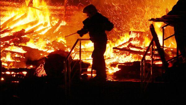 Đám cháy ở trại thiếu nhi Odessa - Sputnik Việt Nam