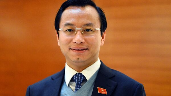 Ông Nguyễn Xuân Anh - Bí thư Thành ủy, Chủ tịch HĐND Đà Nẵng. - Sputnik Việt Nam