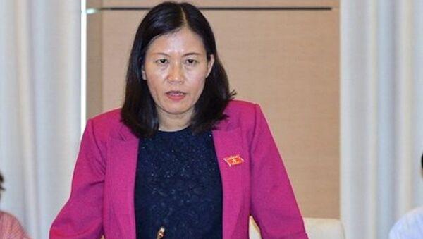 Chủ nhiệm Ủy ban Tư pháp Lê Thị Nga - Sputnik Việt Nam