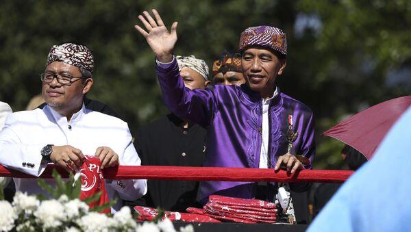 Tổng thống Indonesia Joko Widodo - Sputnik Việt Nam