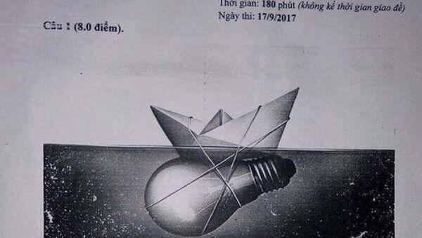 Đề văn chọn học sinh giỏi quốc gia năm 2018 được cho là của sở GD&ĐT Bắc Giang gây tranh cãi. - Sputnik Việt Nam