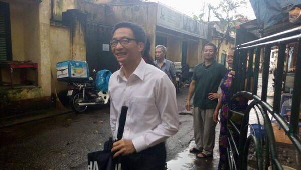 Phó Thủ tướng Vũ Đức Đam bất ngờ thị sát Hãng phim truyện Việt Nam - Sputnik Việt Nam