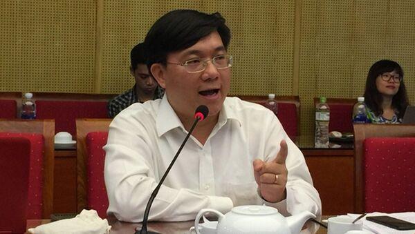 Ông Trần Duy Đông, Vụ trưởng Vụ Quản lý các khu kinh tế - Sputnik Việt Nam