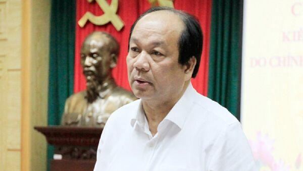 Bộ trưởng Mai Tiến Dũng trách Hiệp hội DN Dược Việt Nam run không dám đến dự - Sputnik Việt Nam