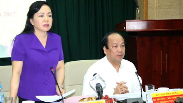 Bộ trưởng Y tế chia sẻ ngành chịu áp lực rất lớn do là cơ quan gác cổng, bảo vệ sức khoẻ nhân dân - Sputnik Việt Nam