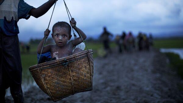 Dân tị nạn người Rohingya - Sputnik Việt Nam