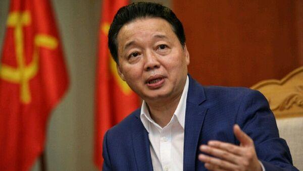 Bộ trưởng Bộ Tài nguyên và Môi trường (TN&MT) Trần Hồng Hà. - Sputnik Việt Nam