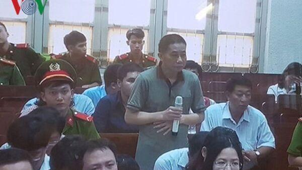 Bị can Ninh Văn Quỳnh được triệu tập đến phiên tòa chiều 21/9 - Sputnik Việt Nam