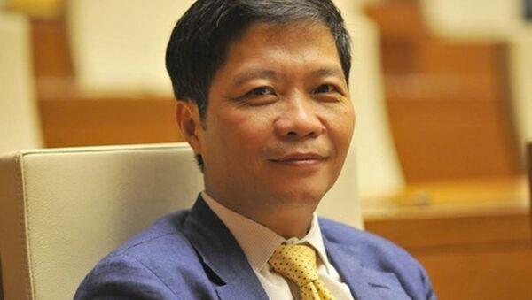 Bộ trưởng Bộ Công Thương Trần Tuấn Anh. - Sputnik Việt Nam