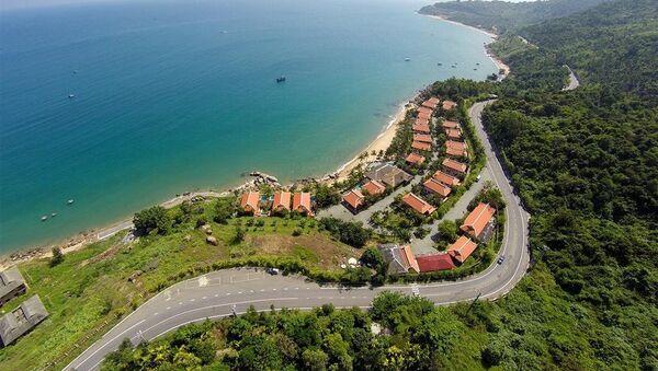 Một khu nghỉ mát được xây dựng tại Vườn quốc gia Sơn Trà sau năm 2008 - Sputnik Việt Nam