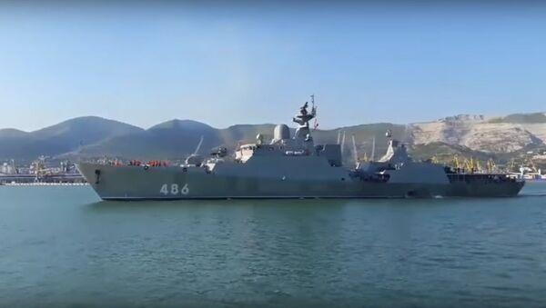 Chiến hạm Gepard 3.9 Việt Nam sắp về nước tăng cường sức mạnh cho Hải quân - Sputnik Việt Nam