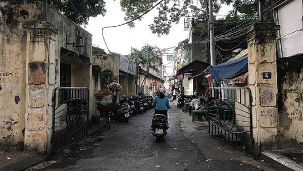 Hãng phim truyện Việt Nam đang nằm trên khu đất rộng hơn 5.000 mét vuông tại số 4 đường Thuỵ Khuê. - Sputnik Việt Nam
